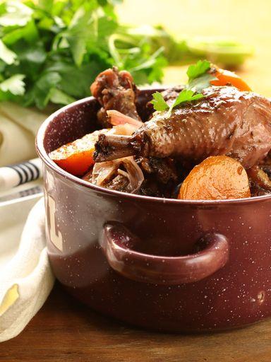Volaille recettes - Cuisson oeuf a la coq ...